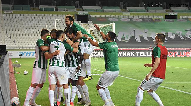 Konyaspor: 1 - Çaykur Rizespor: 0