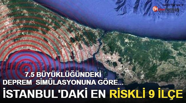 Korkutan tablo! İstanbul'daki en riskli 9 ilçe...