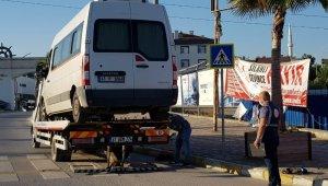 Korsan servis denetiminde 23 araca 50 bin lira ceza kesildi