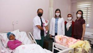 Kula Devlet Hastanesinde 2 yıl sonra ilk doğum