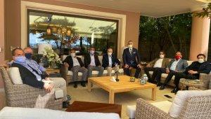 Kulüpler Birliği'nden Mustafa Cengiz'e geçmiş olsun ziyareti
