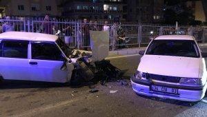 Kuşadası'nda ki kazada ikiz bebekler ölümden döndü