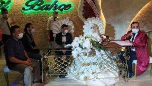 Kütahya'da düğünler korona virüs önlemleriyle başladı