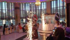 Malatya'da düğünler korona tedbirleri ile başladı