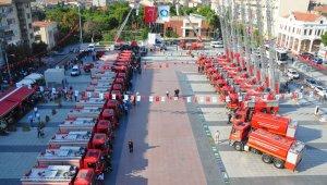 Manisa Büyükşehir itfaiye filosunu güçlendirdi