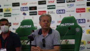 """Menemenspor Teknik Direktörü Dilaver Mutlu: """"Sezon boyunca oynadığımız gibi oynadık"""""""