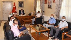 Milas Muhtarlar Derneği'nden Muğla Valisi Tavlı'ya ziyaret
