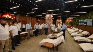 Millet Çarşısı'nda spa ve hamam kompleksi açıldı