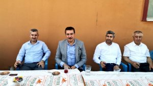 Milletvekili Tüfenkci'den mahalle ziyaretleri