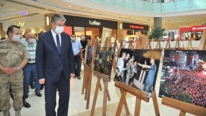 """Osmaniye'de """"15 Temmuz"""" fotoğraf sergisi"""