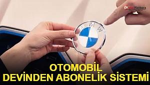 Otomobil devinden abonelik sistemi