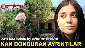 Pınar Gültekin'in öldürdüğü evin içi görüntülendi