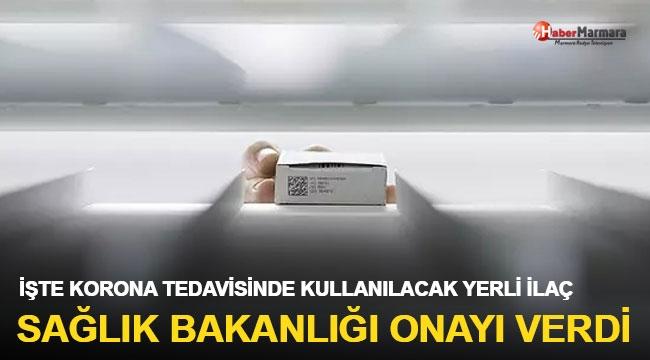 Sağlık Bakanlığı onayı verdi: İşte korona tedavisinde kullanılacak yerli ilaç
