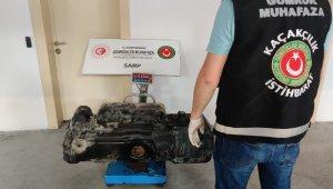 Sarp Gümrük Kapısı'nda 153 kilogram bal ele geçirildi