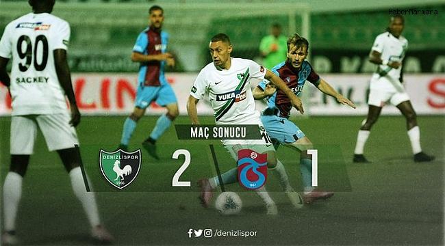 Süper Lig: Denizlispor: 2 - Trabzonspor: 1