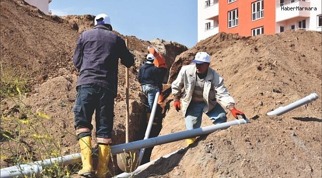 Tatvan'da yeni içme suyu hatları döşeniyor