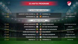 TFF, Süper Lig'in 33. haftasında program değişikliği yaptı