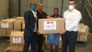 TİKA'dan Botsvana'ya gıda yardımı