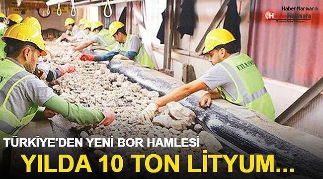 Türkiye'den yeni bor madeni hamlesi