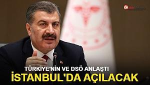 Türkiye ve DSÖ anlaştı! İstanbul'da açılacak