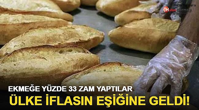 Ülke iflasın eşiğinde! Ekmeğe yüzde 33 zam yapıldı