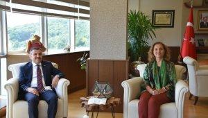 Vali Atay'dan Düzce Üniversitesi'ne ziyaret