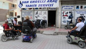 Van'da engelli araç tamir servisi açıldı