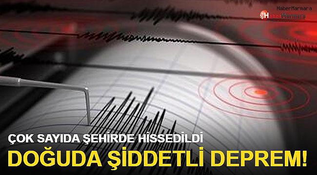 5.2 büyüklüğünde korkutan deprem Çok sayıda şehirde hissedildi