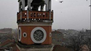 Abdülhamid Han'ın yadigârı saat yenilendi