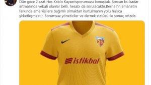 """Alpaslan Baki Ertekin, """"2 saat HES Kablo Kayserispor'u Konuştuk"""""""