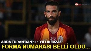 Arda Turan'dan Galatasaray'a 1+1 yıllık imza