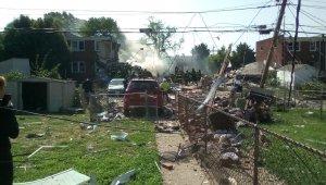 Baltimore'da şiddetli patlama