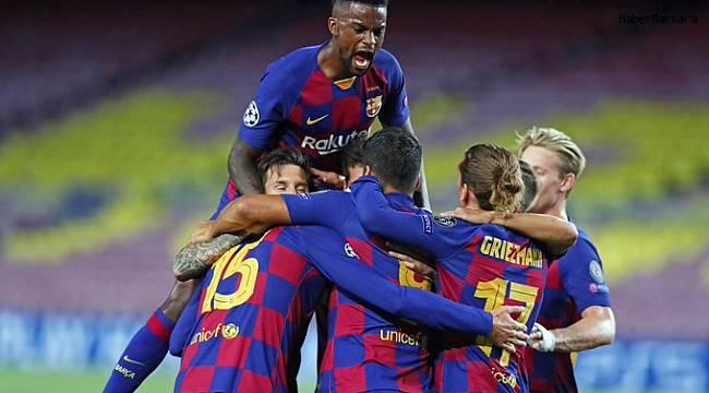 Barcelona çeyrek Finale Yükseldi