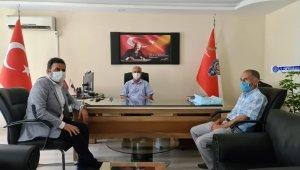 Başkan Yıldırım, Emniyet Müdürü Torlak ile bir araya geldi