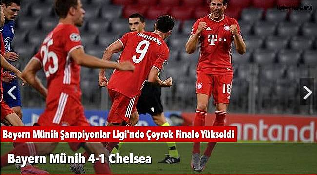 Bayern Münih 4-1 Chelsea