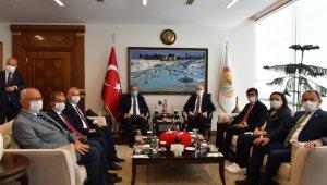 Denizli İl Koordinasyon Kurulu, Bakan Karaismailoğlu başkanlığında toplandı