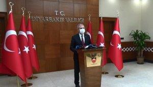 Diyarbakır Valisi Karaloğlu, korona virüs ile ilgili yeni tedbirleri açıkladı