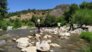 Diyarbakır'da kaybolan Miraç'ı arama çalışmaları 8'inci gününde devam ediyor