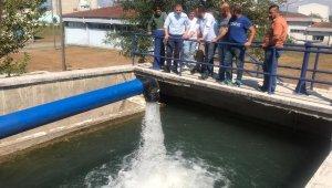 Düzce'de yeni su kaynağından su verilmeye başlandı