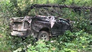 Giresun'da trafik kazası: 1 ölü, 2 kişi yaralı