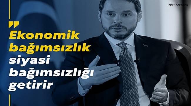 Hazine ve Maliye Bakanı Albayrak: