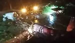 Hindistan'da 191 yolcu taşıyan uçak kaza yaptı!