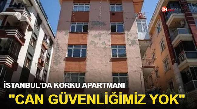 İstanbul'un göbeğinde korku apartmanı!