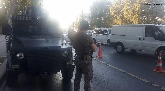 İstanbul'da helikopter destekli huzur uygulaması