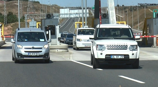 Kuzey Marmara Otoyolu bayram tatilcilerini trafik çilesinden kurtardı