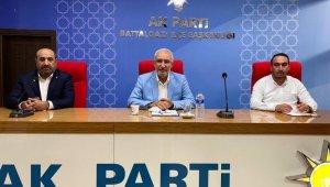 Milletvekili Kahtalı'dan AK Parti İlçe teşkilatına ziyaret