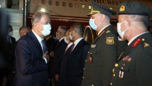 Milli Savunma Bakanı Akar, Azerbaycan Cumhurbaşkanı Aliyev ile görüşecek