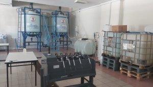 OMÜ'de 25 çeşit temizlik ürünü üretilerek satışa sunuldu