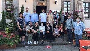 Ortamahalle'ye ziyaretçi ilgisi