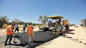 Pancarlı Mahallesi'nde asfalt çalışmaları başladı
